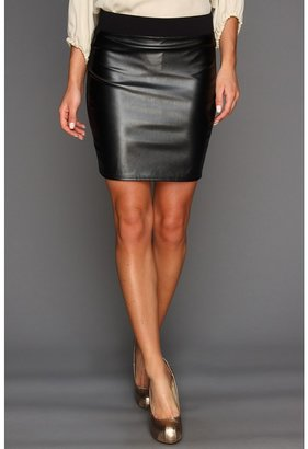 Gabriella Rocha Marlo Mini Skirt (Black/Black) - Apparel