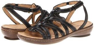 Naturalizer Jamboree (Black Leather) - Footwear