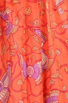 Tricia Fix Suki Maxi Dress in Orange Butterfly