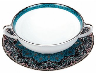 Philippe Deshoulieres Dhara Peacock Cream Soup Cup $175 thestylecure.com