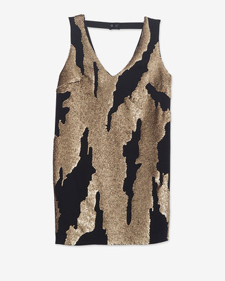 Robert Rodriguez Exclusive Distressed Sequin Mini Dress