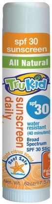 TruKid Sunny Days Water Resistant Sunscreen Stick