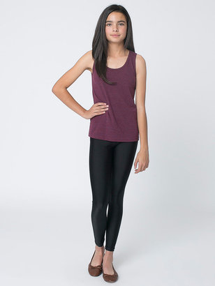 American Apparel Youth Nylon Tricot Legging