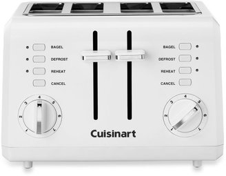 Cuisinart White Compact Cool-Touch 4-Slice Toaster