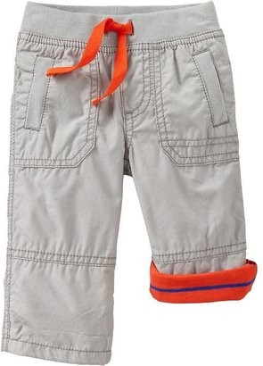 Old Navy Jersey-Lined Pull-On Pants for Baby