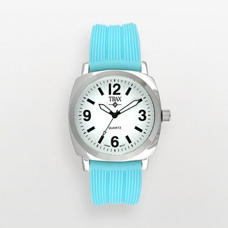 Shelley Trax TM silver-tone watch - women