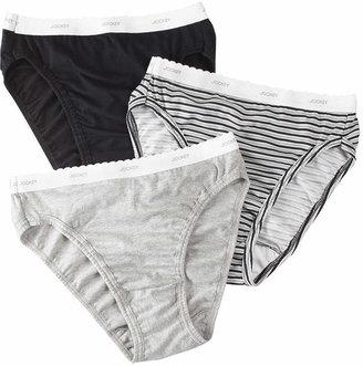 7356f927c6c2 Jockey Classic 3 Pair High Cut Panty 9457