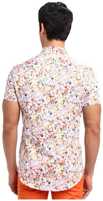 Bikkembergs S/S Floral Button Up