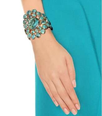 Isharya GOLD-PLATED CUFF WITH TURQUOISE