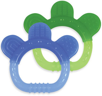 I Play green sprouts™ by Sili Paw Teether (2-Pack) - Boy