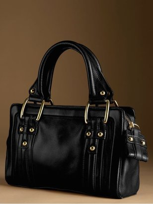 Banana Republic Gramercy flat satchel - Black