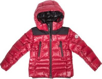 Moncler Quilted Down Hooded Jacket