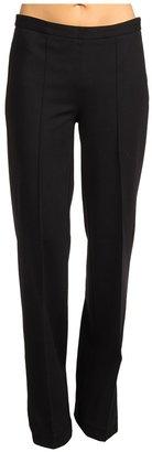 NYDJ Desiree Pintuck Wide Leg Ponte Knit Pant (Black) - Apparel