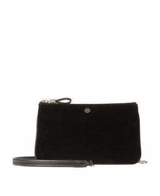 Ann Taylor Velvet Crossbody Bag