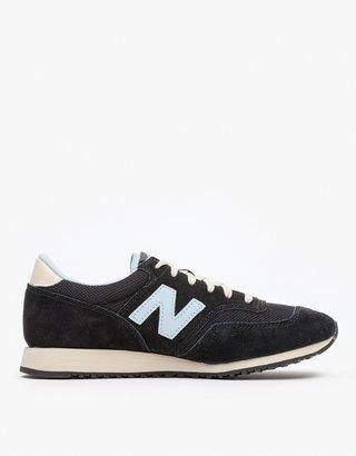 New Balance 620 in Black & Blue