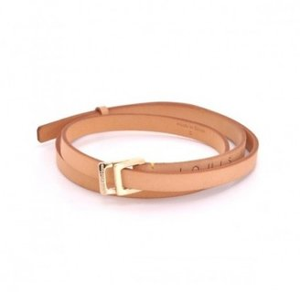 Louis Vuitton excellent (EX Cowhide Leather Adjustable Belt
