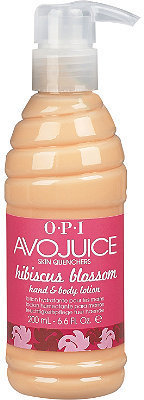 OPI Avojuice Skin Quenchers Hibiscus Blossom Hand & Body Lotion