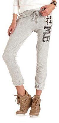 Charlotte Russe #Me French Terry Sweatpant