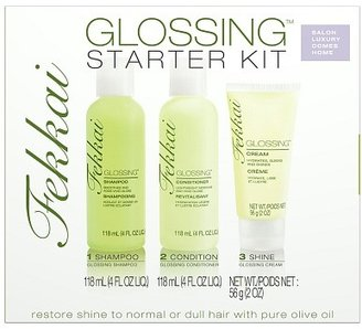 Frederic Fekkai Glossing Shampoo, Conditioner and Shine Hair Care Starter Kit