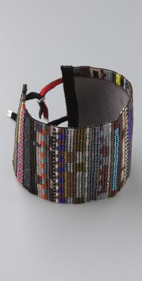 Julie Rofman Modern Beaded Cuff