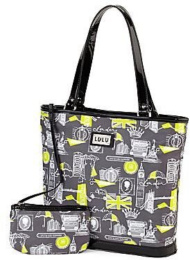 Lulu by Guinness® Print Mid-Size Tote