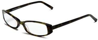 Corinne McCormack Women's Sally 25892 Rectangular Reading Glasses,Mojito Frame/Clear Lens,2.00
