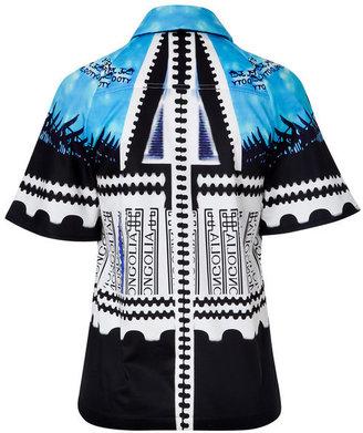Mary Katrantzou Multicolored Cotton Bloomberg Shirt