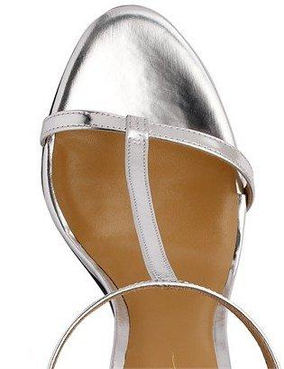 3.1 Phillip Lim 90mm Metallic T-strap Sandals