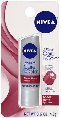 Nivea Lip Care A Kiss of Care & Color Sheer Berry