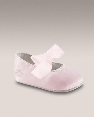 Ralph Lauren Briley Shoe, Pink Satin