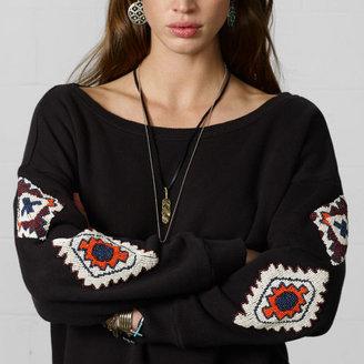 Denim & Supply Ralph Lauren Beaded Cotton Sweatshirt