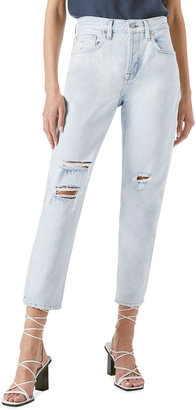 Frame Le Original High-Rise Straight Crop Jeans