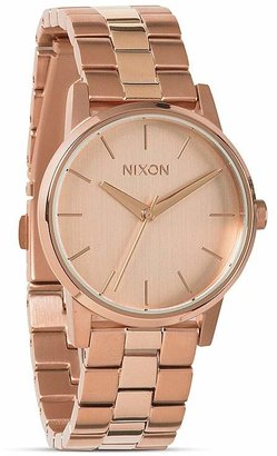 Nixon The Small Kensington All Rose Gold Tone Watch, 32mm $175 thestylecure.com