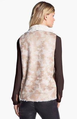 Damselle Faux Shearling Vest