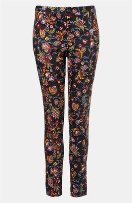Topshop Print Skinny Pants