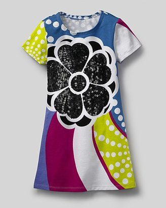 """Flowers by Zoe Toddler Girls' """"Hibiscus Sequin"""" Flower Dress"""