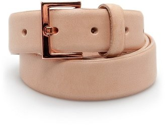 MANGO TOUCH - Leather belt