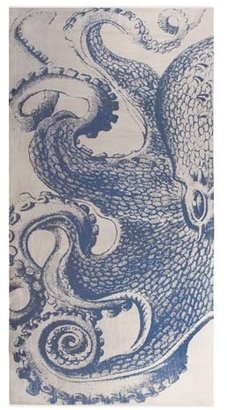 Thomas Paul Octopus Linen Scarf