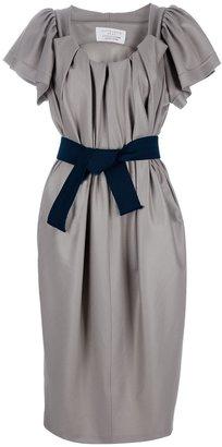 David Szeto Pleated dress