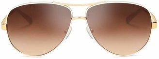 Tory Burch TPrint Aviator Sunglasses