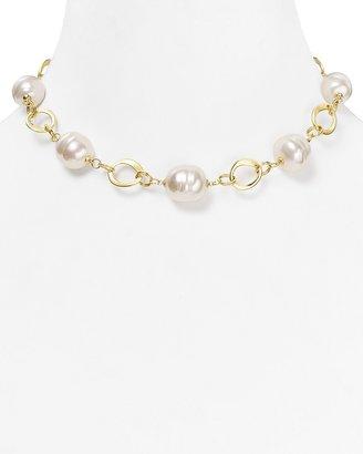"""Majorica Baroque Necklace, 14"""""""