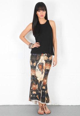Torn By Ronny Kobo Kendall Long Skirt -