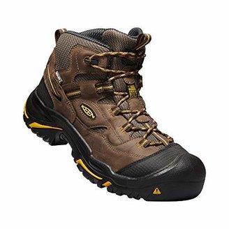 Keen Men's Braddock Mid Waterproof (Steel Toe) Work Boots