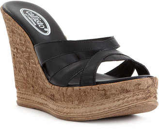 Callisto Shoes, Esther Wedge Sandals