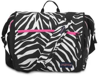 JanSport elefunk zebra 15-in. laptop shoulder bag