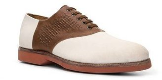 Ralph Lauren Henley II Suede & Leather Saddle Oxford