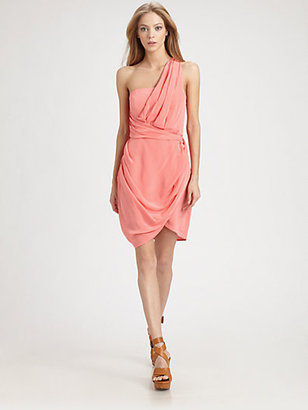 Zimmermann One-Shoulder Dress