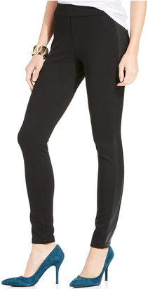 Jessica Simpson Ashby Coated Tuxedo Stripe Leggings