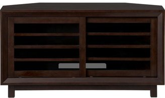 "Crate & Barrel Farrow 44"" Corner Media Console"