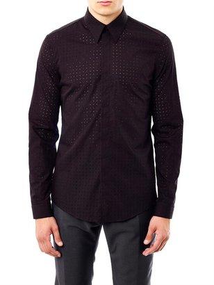 Balenciaga Laser-cut cotton shirt